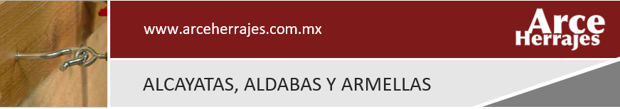 Alcayatas, Aldabas y Armellas