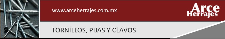 Tornillos, Pijas y Clavos