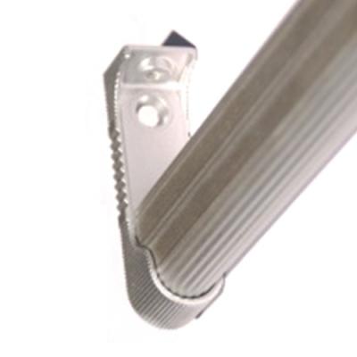 Tubo aluminio estriado