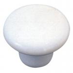 Boton blanco porcelana