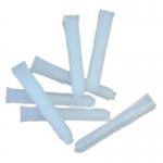 Taquete de plastico blanco
